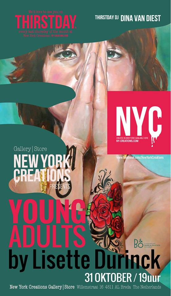 Uitnodiging NY creations lengte